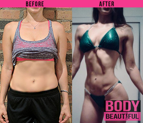 3 Month Weight Loss Plan – Maria's Journey to Her First Bikini Competition